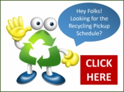 recycling pickup schedule shortcut