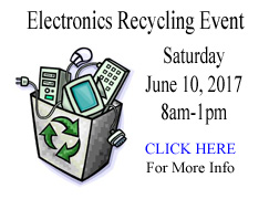 website slide-electronics recycling event