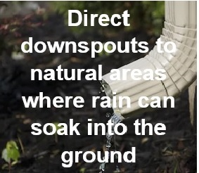 Direct Downspouts